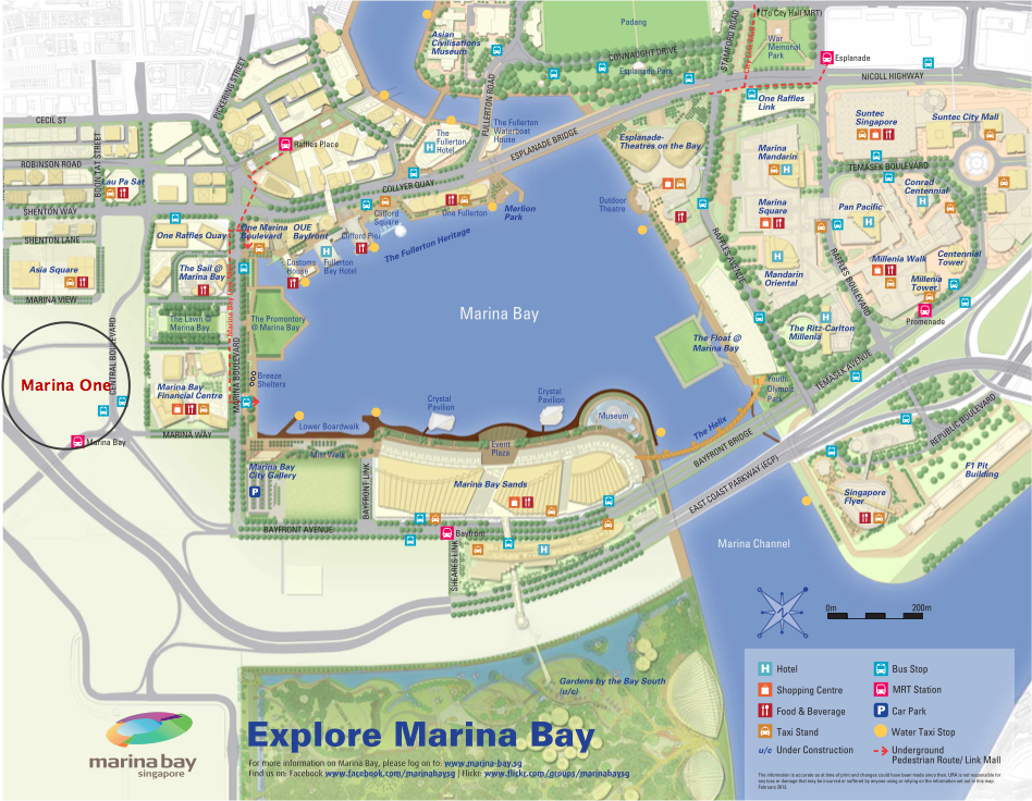 Marina One Marina Bay Map Re Ph Collective